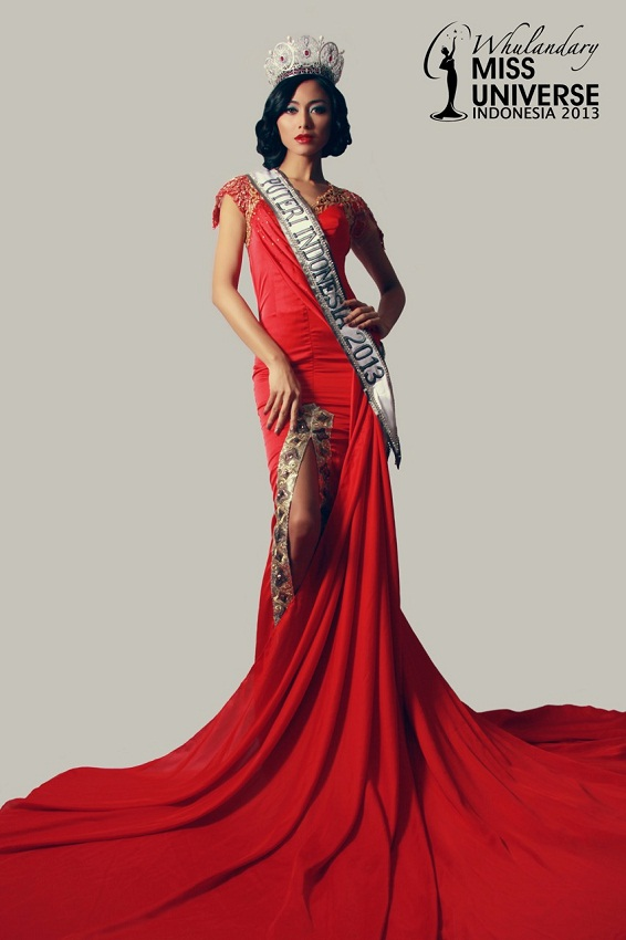 Whulandary Herman Miss Indonesia Universe 2013 photo