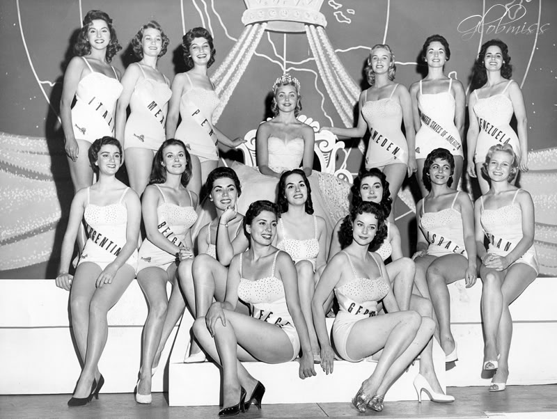 Miss Universe 1956 top-15