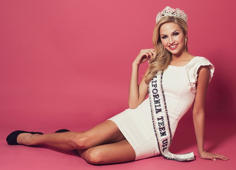 Cassidy Wolf (California) Miss Teen USA 2013 winner. photo
