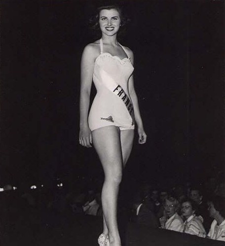 Christiane Martel / Magnani (France) Miss Universe 1953 photo
