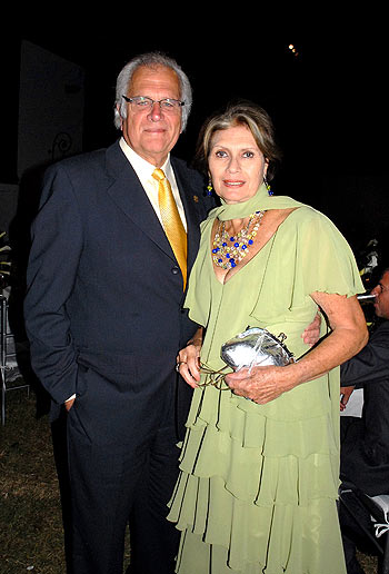 Gladys Zender and her husband Antonio Meier