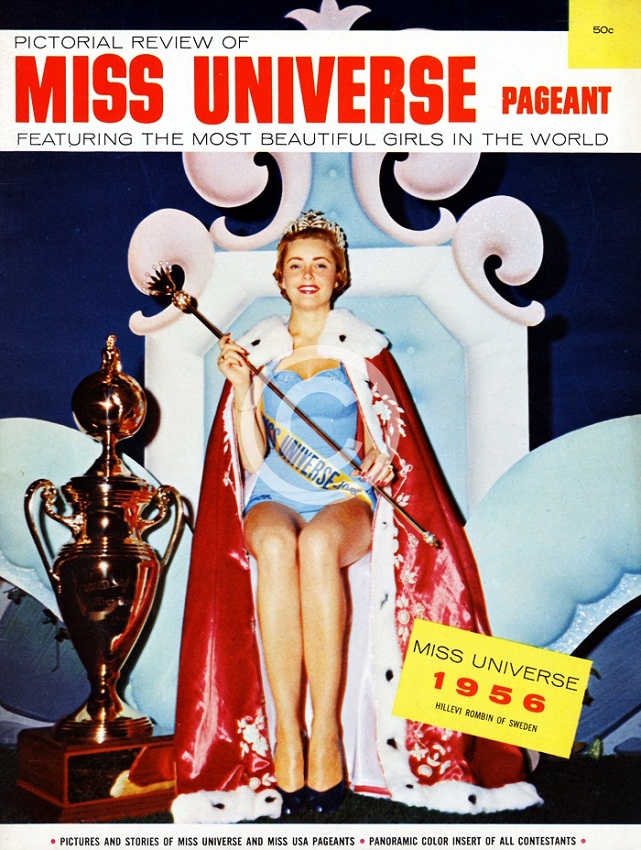 Hillevi Rombin (Sweden) Miss Universe 1955 photo