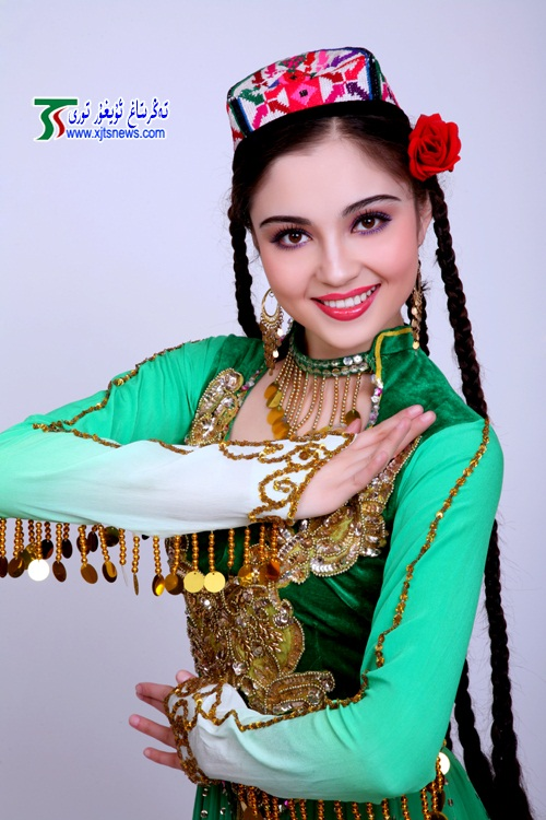 Mahire Emet Most Beautiful Uyghur Girl photo