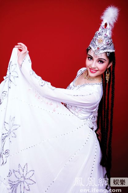 Mayire Ametjan Most Beautiful Uyghur Girl photo