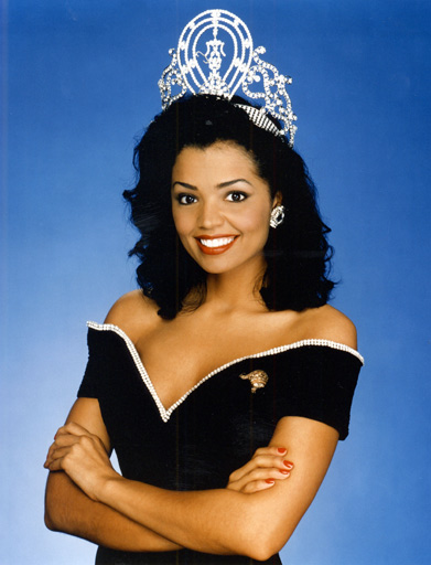 Chelsi Mariam Pearl Smith (Texas) Miss USA 1995 and Miss Universe 1995