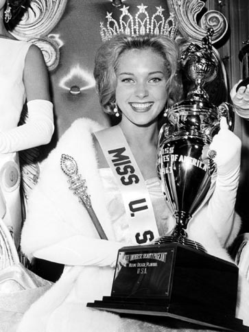Marite Ozers (Illinois) Miss USA 1963 winner photo