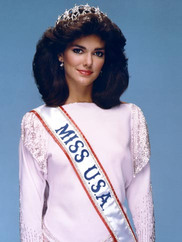 Laura Elena Herring Martínez (Texas) Miss USA 1985