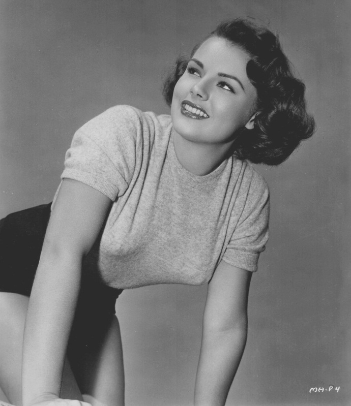 Myrna Hansen Miss USA 1953 hot photo