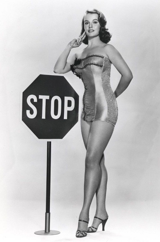 actress Myrna Hansen Miss Illinois USA 1953 photo