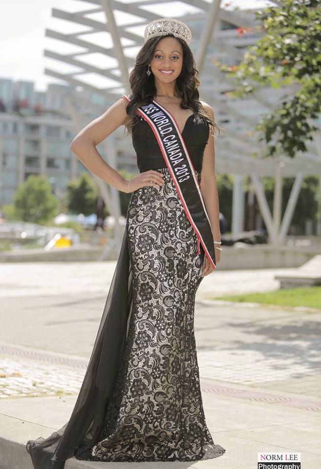Camille Munro - Miss Canada World 2013. Photo Gallery