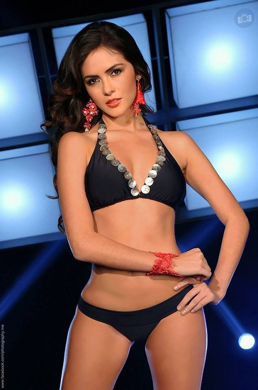 Laritza Párraga  Miss Ecuador World 2013 hot photo