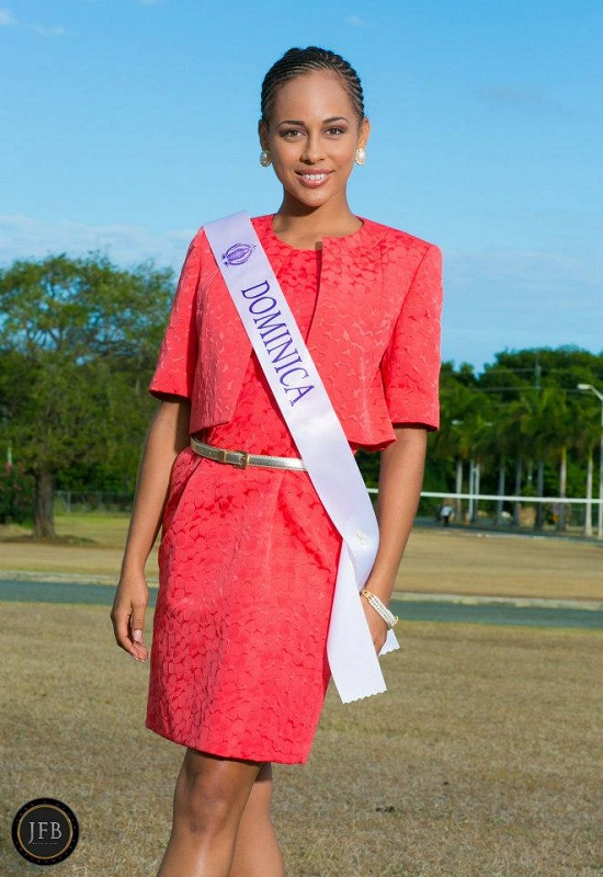 Leslassa Armour-Shillingford Miss Dominica World 2013. photo