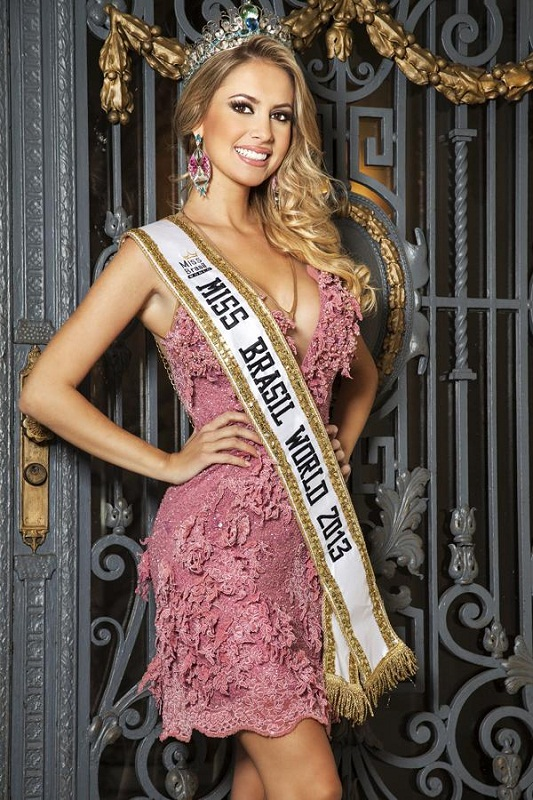 Sancler Frantz Konzen Miss Brazil World 2013. photo