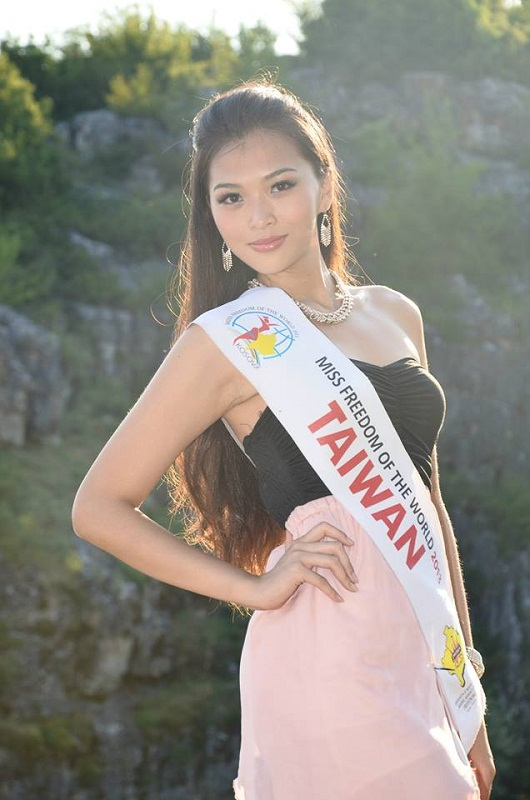 Chang Shao Chuan / 張韶娟 Miss Taiwan Freedom of the World 2013 photo