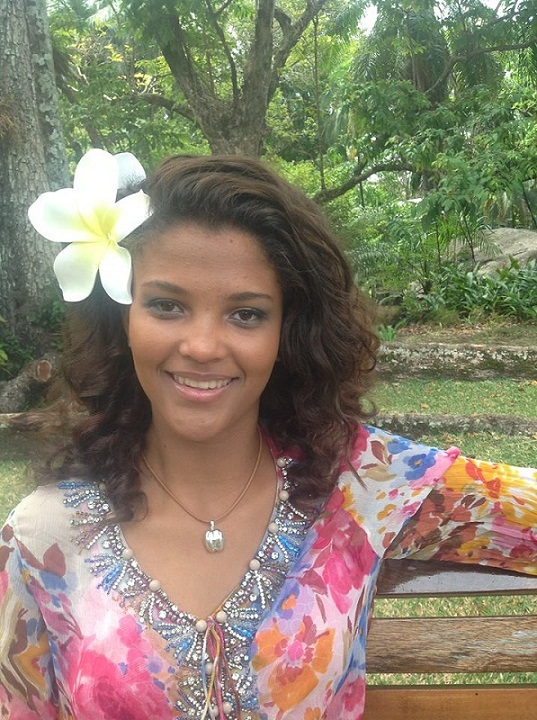 Agnes Emmanuel Miss Seychelles World 2013
