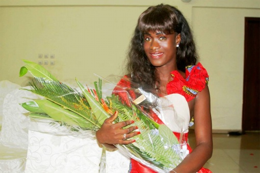 Heny Tavares Miss Guinea-Bissau World 2013