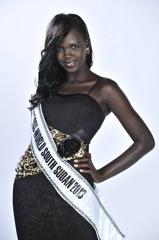 Manuela Mogga Matong is Miss World South Sudan 2013