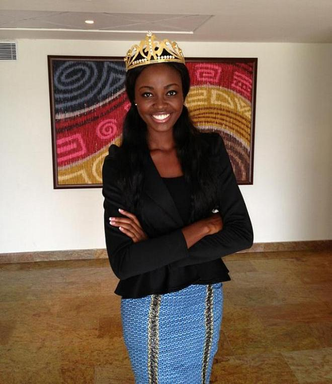 Naa Okailey Shooter - Miss Ghana World 2013