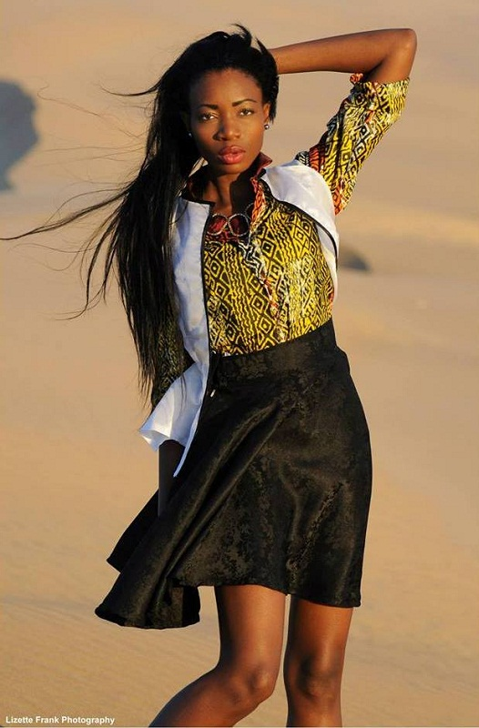Paulina Malulu Miss Namibia Universe 2013 photo