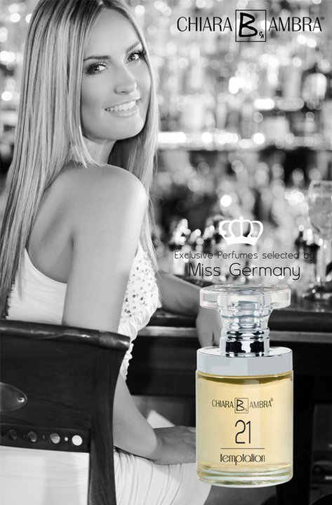 Anne-Julia Hagen face of perfume Chiara Ambra