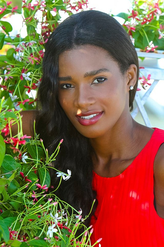 Mondiana J'hanne Pierre beautiful Haitian woman photo