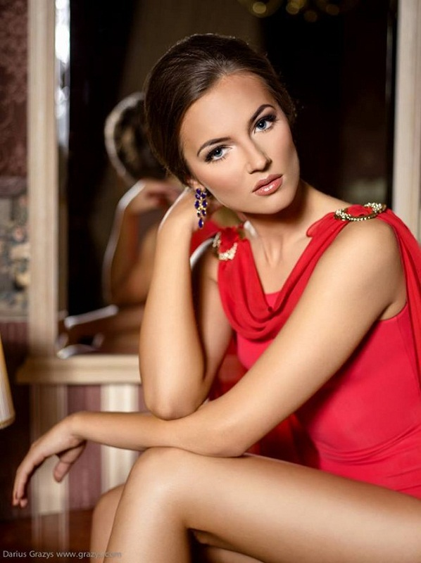 Simona Burbaitė Miss Universe Lithuania 2013 photo