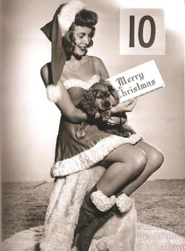 Janet Leigh Christmas photo