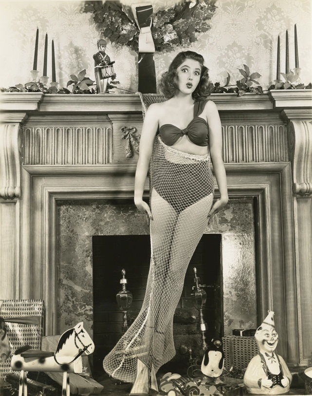 Martha Vickers Christmas photo