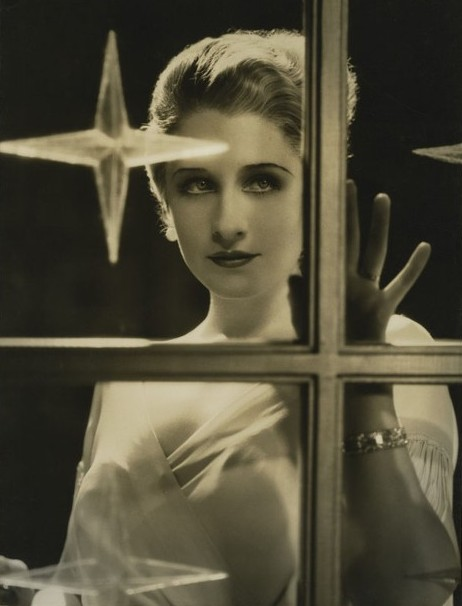 Norma Shearer Christmas photo