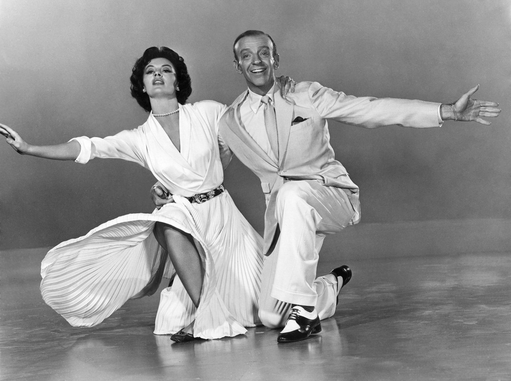 Fred Astaire and Cyd Charisse in The Band Wagon (1953 movie)