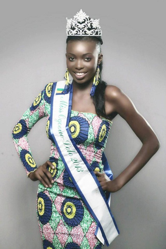 beautiful Gabonese girl