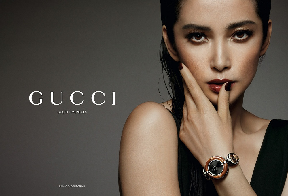 Li Bingbing / 李冰冰 for Gucci bamboo collection