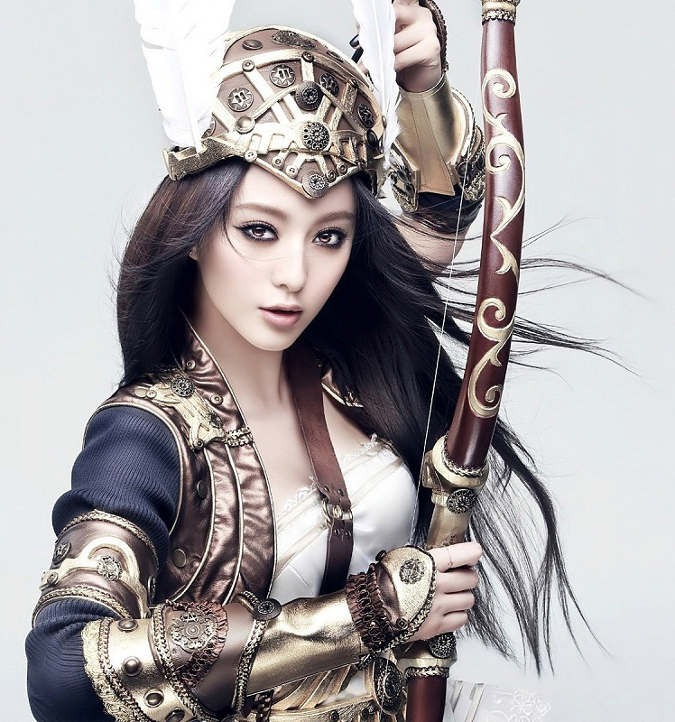 Fan Bingbing / 范冰冰  as a warrior picture