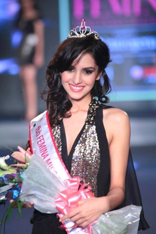 Koyal Rana Miss India 2014 winner photo