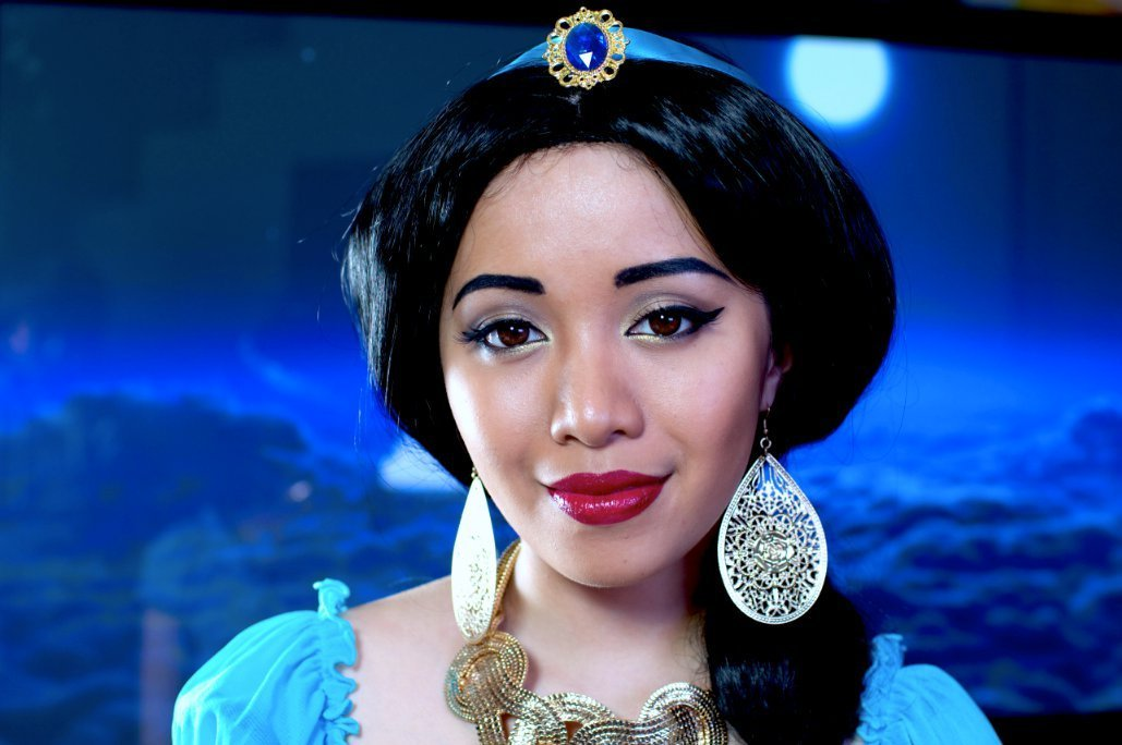 Disney's Princess Jasmine Makeup