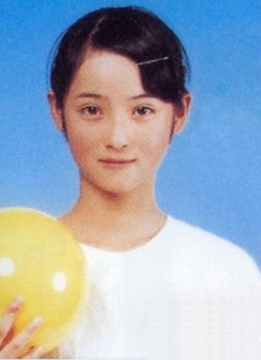 Nozomi Sasaki in a childhood picture